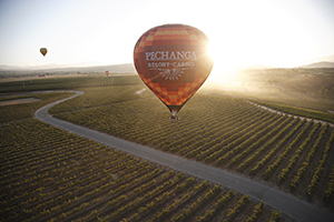 Hot Air Balloon Rides Over Wine Country