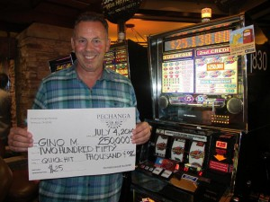 Big Winner Gino Mangino at Pechanga Quick Hit Slots