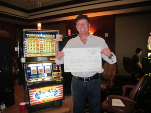 William Ruane won $72.000 on Triple Stars