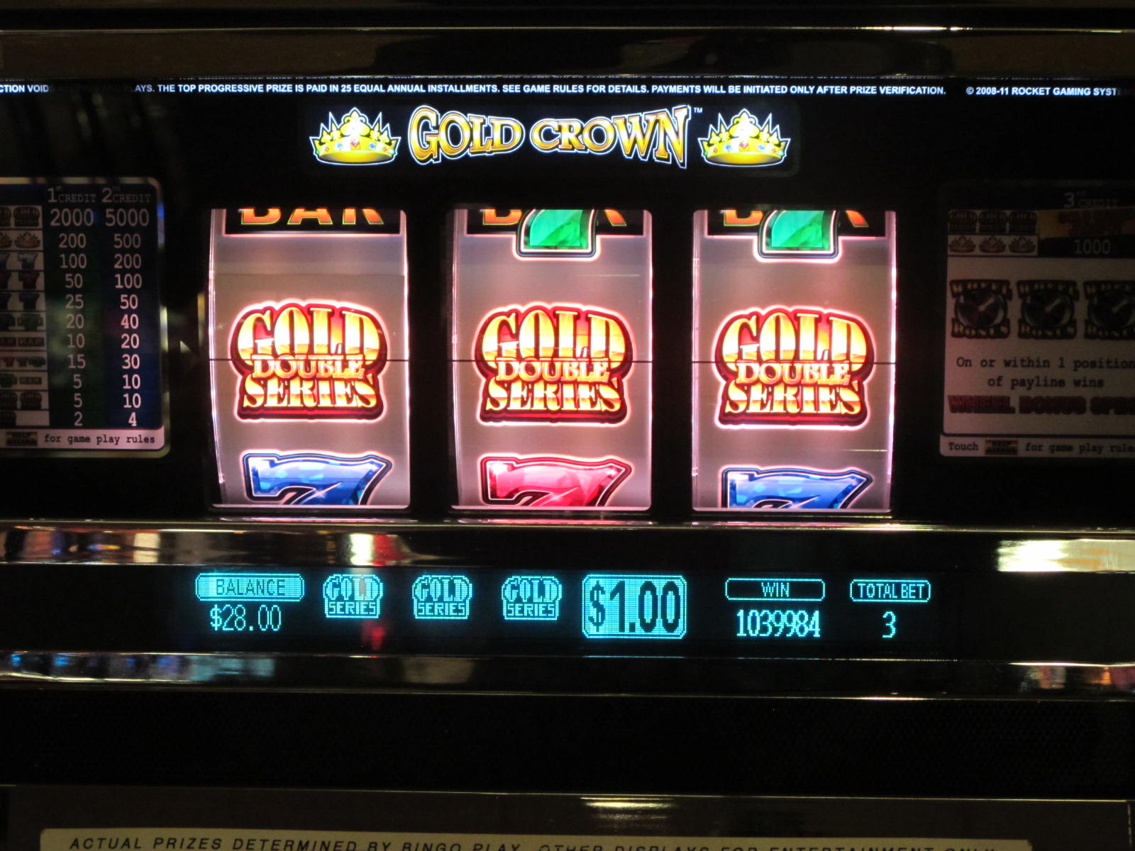 Top 5 slot machines games