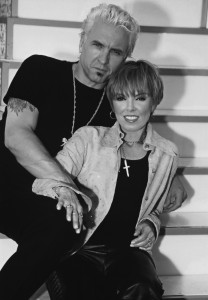 Pat Benatar with Nick