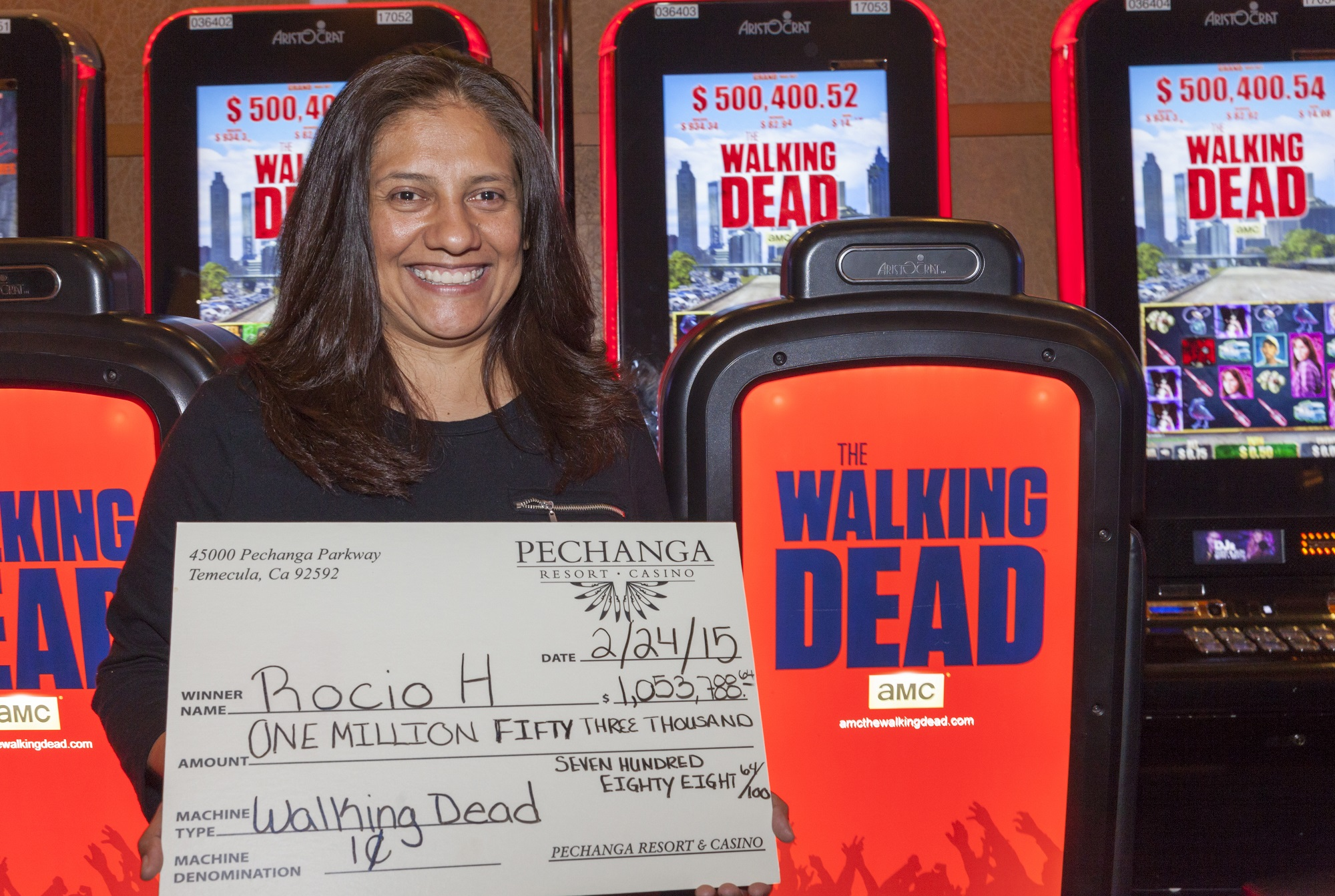 Rocio H-Walking Dead Million Dollar Winner_sm
