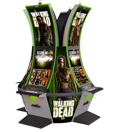 Walking dead online slot machine